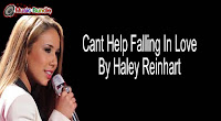 Cant Help Falling In Love Karaoke By Haley Reinhart free download karaoke, mp3, minus one and lyrics.