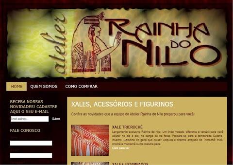 SITE ATELIER RAINHA DO NILO