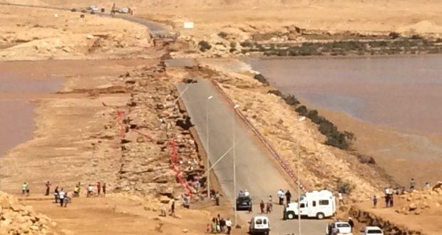 Decenas de saharauis desaparecidos por las riadas del Río Saguia, destrucción barriadas y decenas de ganados en Smara y El Aaiun ocupadas.