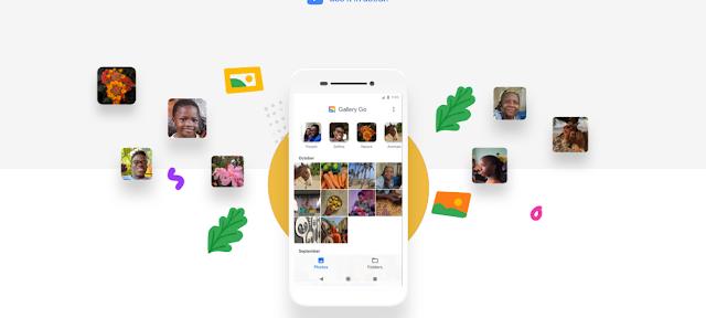 جوجل تطلق تطبيق جديد لتعديل الصور بدون انترنت Gallery Go