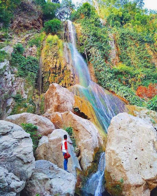 Tenilo Waterfall of Gorontalo