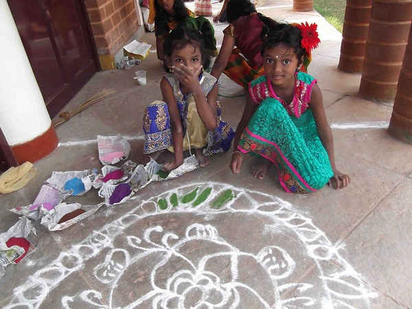 shanti joy nivas enfants Pondichéry