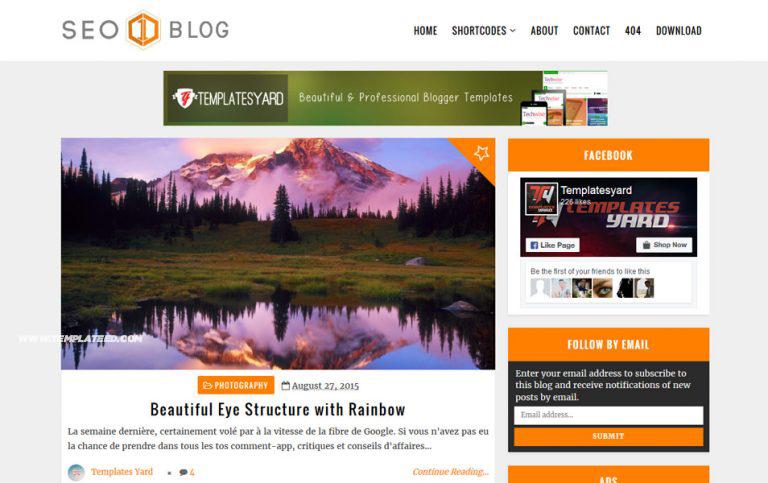 Responsive SEO Ready Blogger Templates
