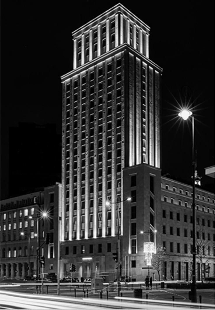 budynek Prudential, Hotel Warszawa, Hotele, Prudential historia, Prudential kolekcja  Vitkac, Prudential Versus Versace,