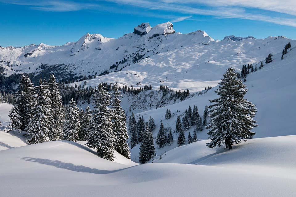 Paisagem na Suíça