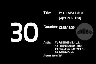 Ajax TV Eutelsat 7A/7B Biss Key 25 December 2020