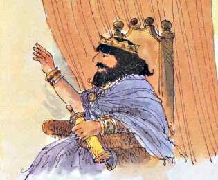 Il re di Siria acconsente la richiesta del suo capitano