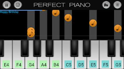 Reprodução por notas musicais