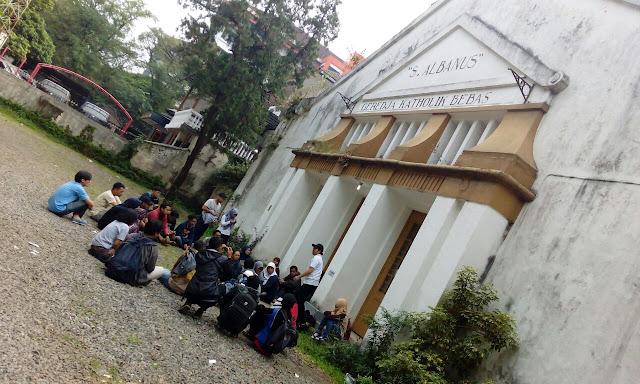 gereja katolik bebas st albanus