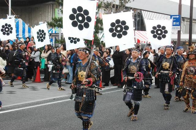 Hagi Jidai Matsuri (historical festival), Hagi City, Yamaguchi Pref.