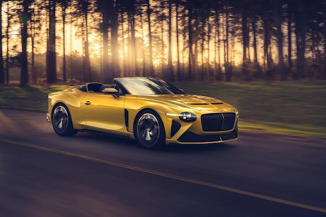 Bentley Mulliner Bacalar Car