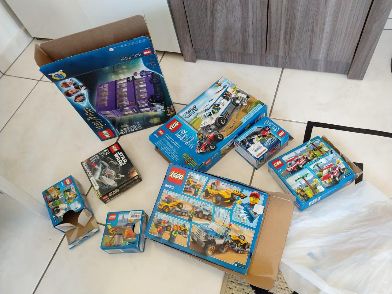 caixinhas de lego