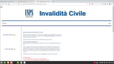 INPS Invalidità civile
