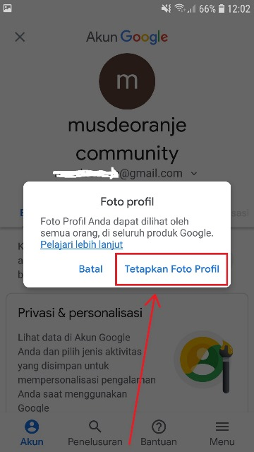 Cara Mengganti Foto Profil Akun Gmail Di Hp Musdeoranje Net