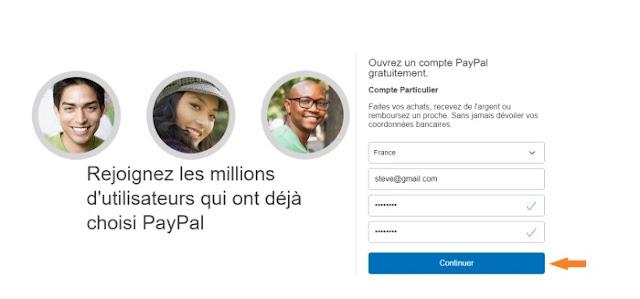 Comment créer un compte Paypal