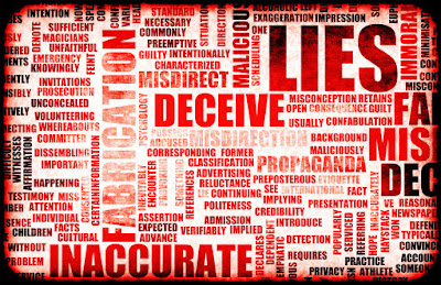 Lies + Deception = Mistrust Forever