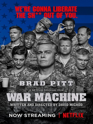 War Machine (2017) Movie English 720p WEBRip 850mb
