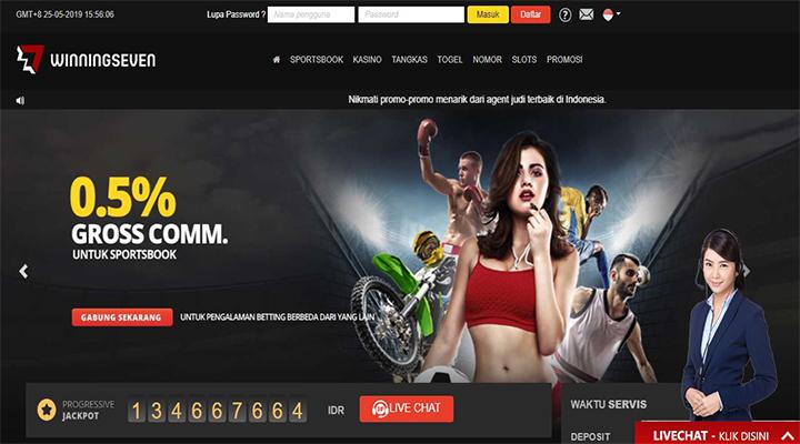 Situs Agen Judi Bandar Bola Dan Casino Online Terpercaya Winningseven