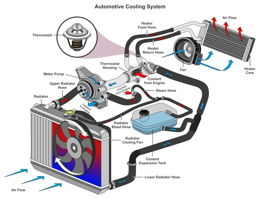 Fungsi Dari Water Pump Mesin Mobil Dan Motor? Berikut Fungsi Water Pump atau Pompa Air Kendaraan