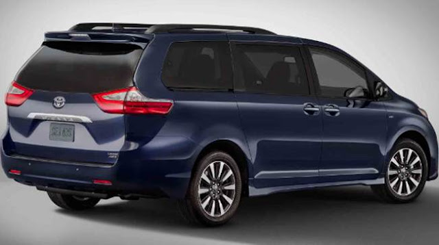 2019 Toyota Sienna Redesign, Release, Price