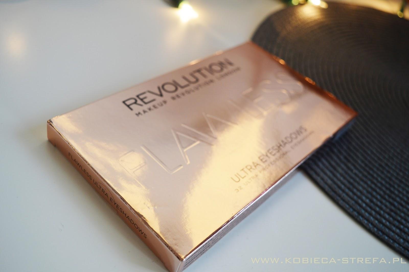 Flawless - nieskazitelne cienie od Makeup Revolution