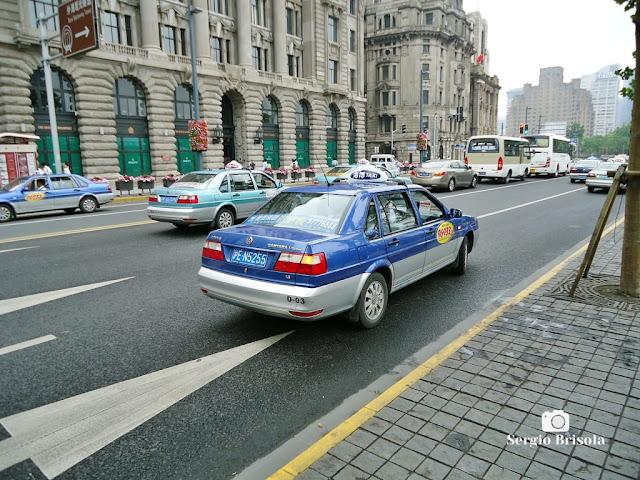 Shanghai's Taxi (All VW model Santana)