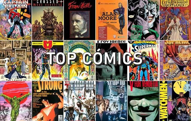Los cómics de Alan Moore, imprescindibles y clásicos