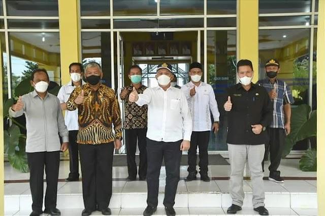 SK Kenaikan Pangkat Untuk ASN Bener Meriah, Diserahkan Sekda Aceh