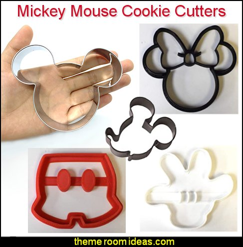 Mickey Mouse Cookie Cutter Mickey Mouse fruit Cutter Mickey Mouse sandwich Cutters