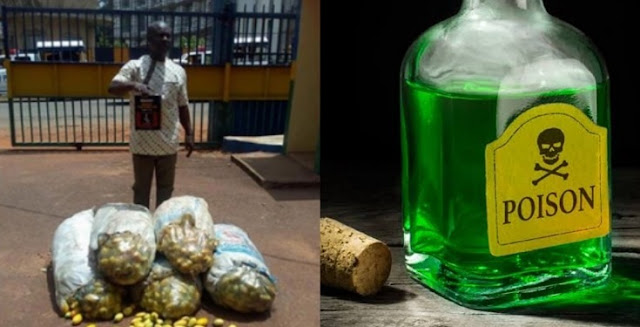 Man Arrested For Allegedly Poisoning 143 Bags Of Garden Eggs In Enugu