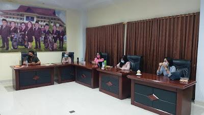 DPRD Minsel Belajar Rencana Pembangunan di DPRD Manado