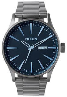 Nixon SENTRY SS Gunmetal Blue A356502
