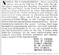 Clipping, Clipping, 20 Apr 1830 - Richmond Enquirer (Richmond, Virginia), p. 3, col. 6.