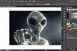 Cara PowerClip seperti Corel Draw di Illustrator