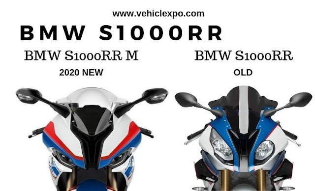 BMW S1000rr  Old and New 2020 BMW S1000RR Comparison