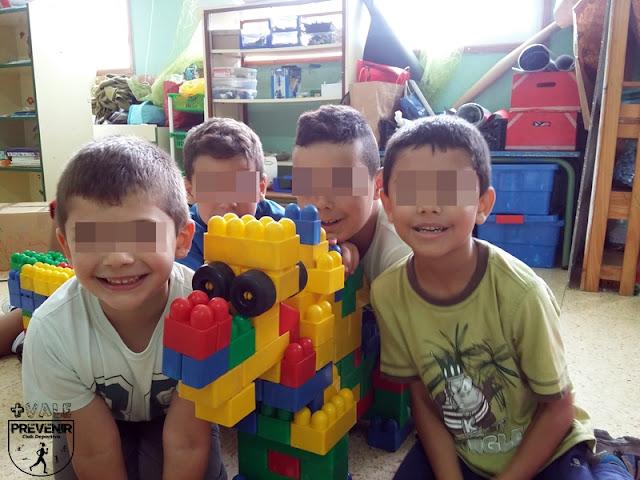 construcciones lego escuela verano arucas