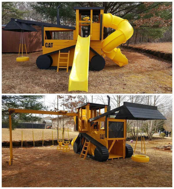 Cat Vehicles Play Equipment