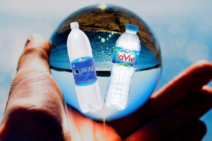 Chọn nước uống Aquafina hay Lavie?