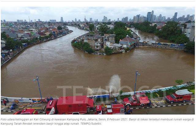 Anies Baswedan Harus Benahi Sungai, Pengamat: Bukan Gusur tapi Geser