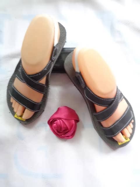 Grosir Sandal Talincang Kulit Wanita Garut - 082317553851