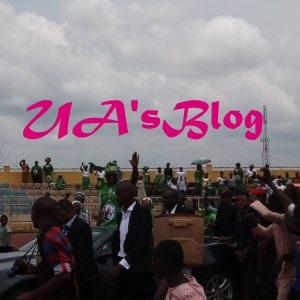 Excitement As Hundreds Of Ekiti Women Shut Down Ado Ekiti For Fayose's N400 Million Largesse (Photo)