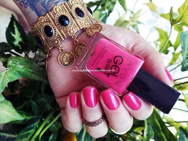 Esmalte Pink Extravagante Avon