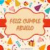 Feliz Cumpleaños abuelito... ¡Dios te bendiga!!