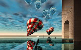 pinturas-contemporáneas-surrealistas-con-paisajes