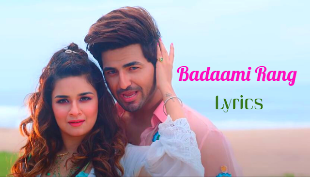 Badaami Rang Lyrics in English :- Nikk | Avneet Kaur