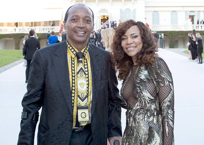 Patrice Motsepe and wife
