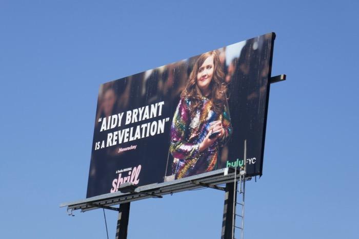 Aidy Bryant Shrill season 1 Emmy FYC billboard