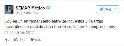 "En Tepic Nayarit abaten a ""El H2"" líder del cártel de los Beltrán Leyva"