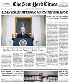 The New York Times Magazine 10 September 2021