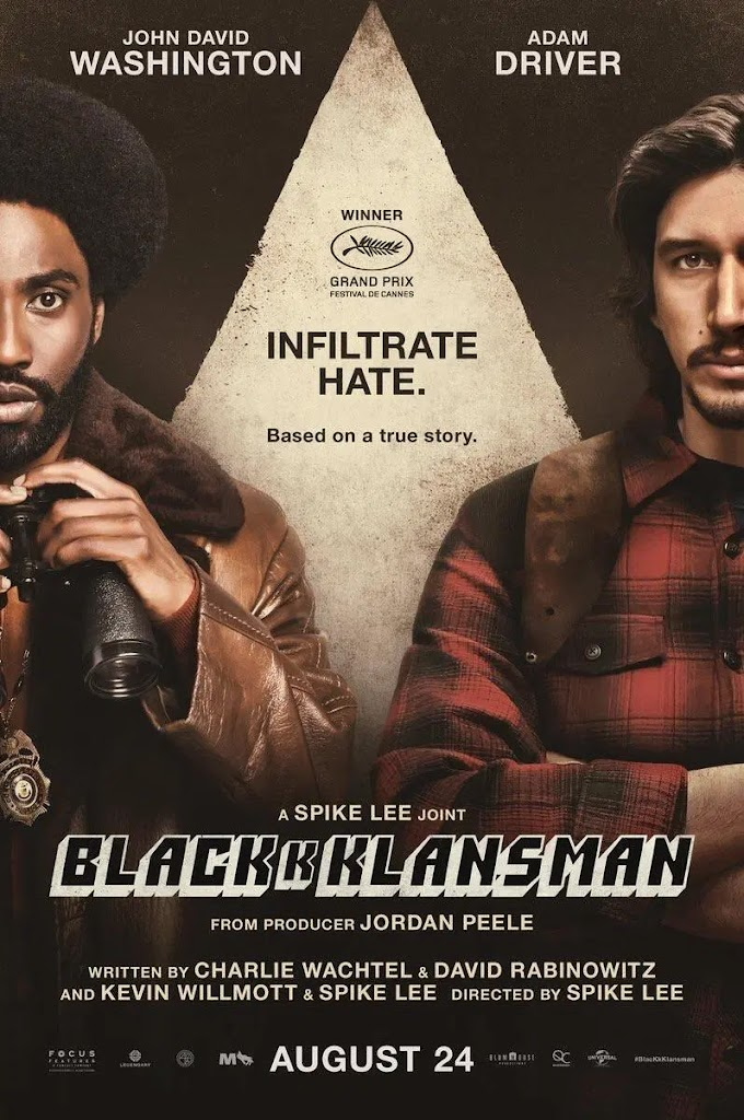 BlacKkKlansman 2018 Dual Audio Hindi 480p